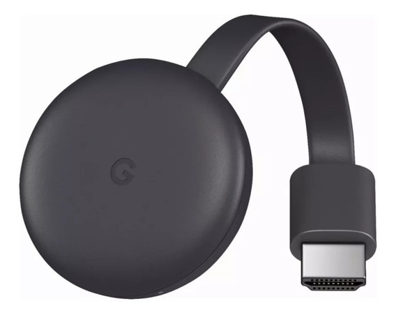 Original Googlechromecast3 Novo Lacrado Streaming Hdmi 1080p