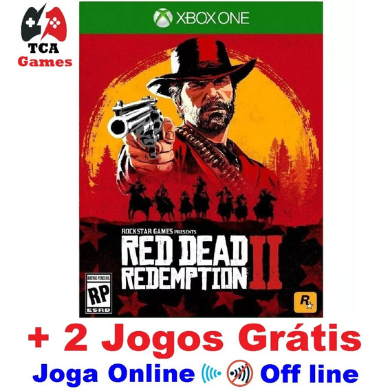 Red Dead Redemption 2 Xbox One Digital + 2 Jogos