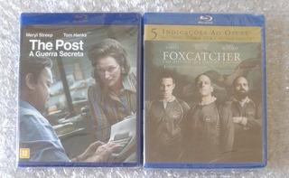 Blu-rays The Post + Foxcatcher (frete R$12)