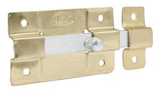 Pasador Lock L038lbb Laton Brillante 12cm