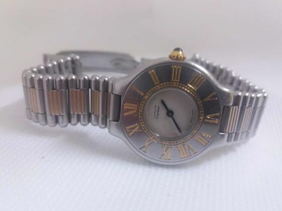 Reloj Cartier Siglo 21 Acero/oro
