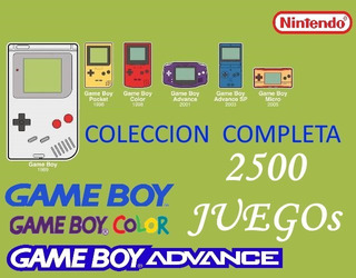Coleccion Nintendo Gameboy / Color / Advance - Completa!!!!