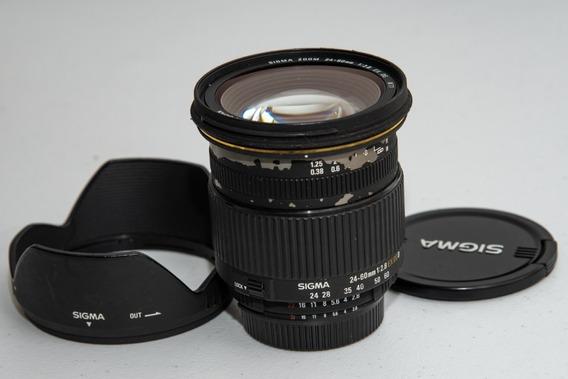 Lente Sigma 24-60 Mm Ex Dg F2.8 Para Nikon