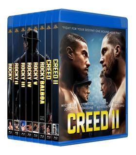 Rocky Colección Completa En Bluray Collection Boxeo Creed 2
