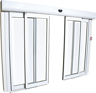 Puerta Automatica Elegance 2 Hojas 2.20m