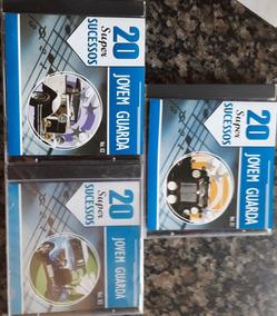 Colecão De 3 Cds Da Jovem Guarda Vol.1 Vol.2 Vol.3