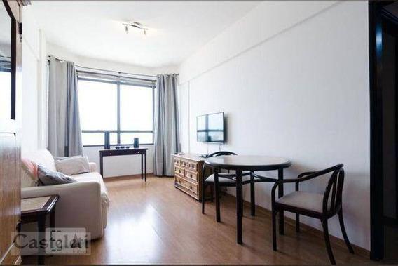 Flat Com 1 Dormitório Para Alugar, 42 M² Por R$ 1.800/mês - Centro - Campinas/sp - Fl0004
