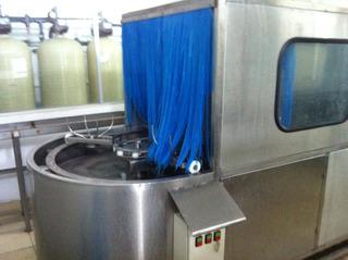 Lavadora Tipo Barco Rotativa Para Garrafon De Remate