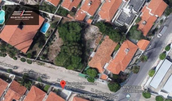 Terreno Para Venda Com 990 M² No Bairro Papicu! - Te0002