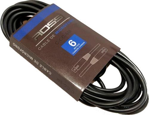 Ross Cable Balanceado Xlr - Xlr De 3 Metros Para Micrófono