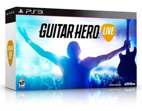 Jogo Guitar Hero Live Bundle Ps3