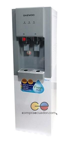 Daewoo Dispensador Agua 2 Surtidores Fria Caliente + Cooler