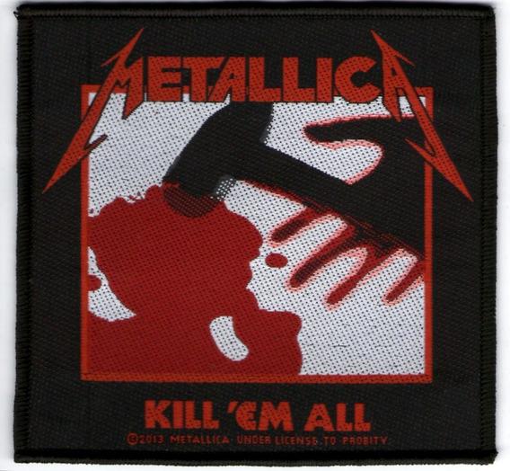 Patch Microbordado - Metallica - Kill Em All Produto Oficial
