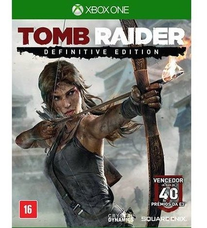 Tomb Raider:definitive Edition Xbox One Mídia Digital+brinde