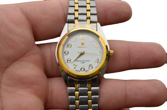 Relógio Feminino De Pulso Mesclado Orimet Oferta Especial.