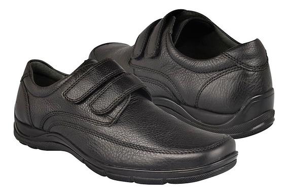 Zapatos Casuales Flexi 97903 Piel Negro