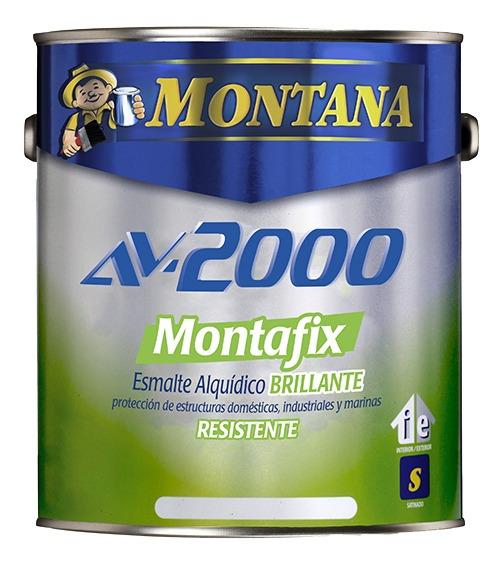 Pintura Aceite Brillante Blanco Av-2000 Montafix