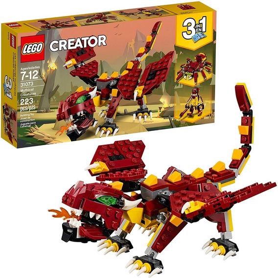 Lego Creator: Criaturas Míticas 31073 (223 Piezas) (26v)