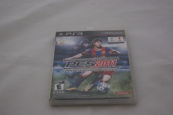 Jogo Ps3 - Pes 2011 Pro Evolution Soccer