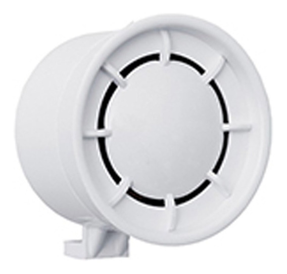 Sirene 12 Volts Branca Pequena Alarmes Residenciais Fks
