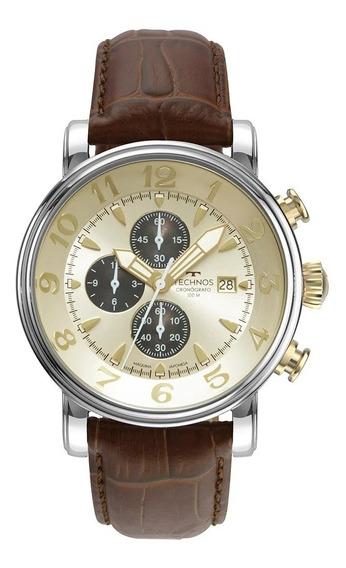 Relógio Technos Grandtech Masculino Prata Os10fi/0d