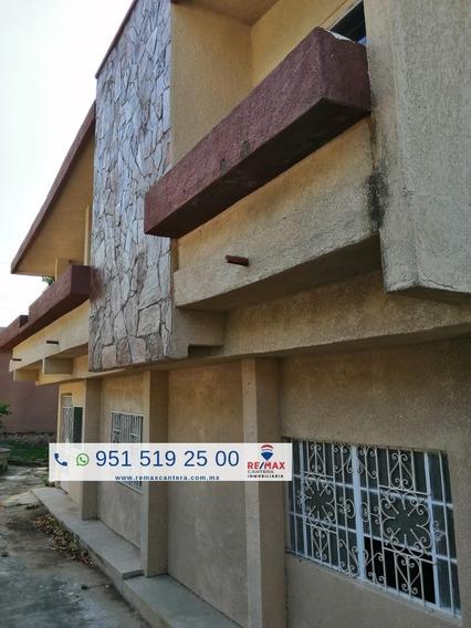 Propiedad Con Casa En Salina Cruz Sobre Av Hidalgo