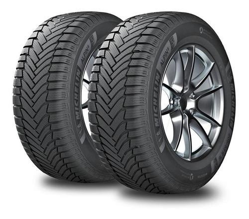 Kit X2 Neumáticos 195/65/15 Michelin Alpin 6 - Para Nieve