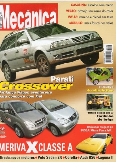 Oficina Mecânica Nº195 Parati Crossover Audi Rs6 Miura Puma