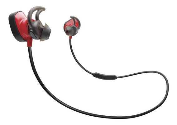 Bose Soundsport Pulso Wireless Inear Auscultadores Vermelho