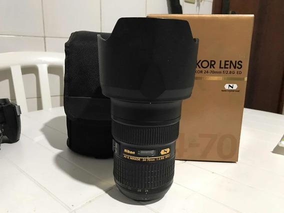 Lente Nikon 24-70mm F/2.8