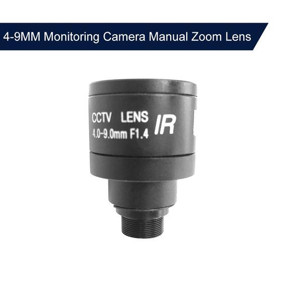 1 Mp Hd 4-9mm Foco M12 Zoom Mtv Lente Manual Para 1/3 E 1/4