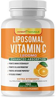 Vitamina C Liposomal 1200mg   Suplemento Dietetico Pastillas