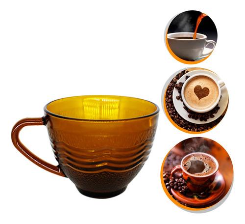 Imagem 1 de 7 de Xicara Chá 240ml Expresso Café Retro Antiga Casa Da Vovo