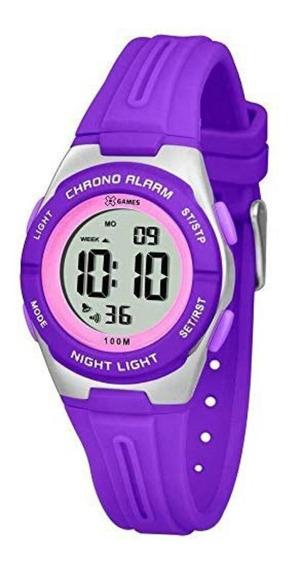 Relógio Feminino X-games Xkppd047 Digital Quartz Sport