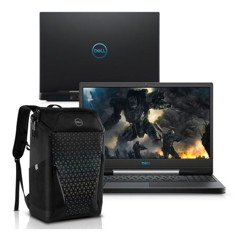 "Notebookgamer - Dell G5-5590-a70bp I7-9750h 2.60ghz 16gb 512gb Ssd Geforce Gtx 1660 Ti Windows 10 Home Gaming 15,6"" Polegadas"