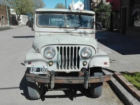 Jeep Ika Pick Up Original 58 Excelente Para Uso Intensivo