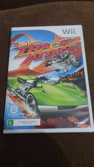 Hot Wheels Track Attack Nintendo Wii Original Frete R$10