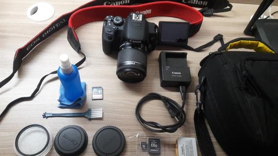 Câmera Canon T5i Completa