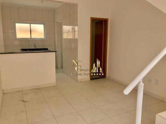Casa De Condomínio À Venda, Vila Sônia, Praia Grande. - Ca0058