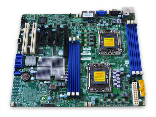 Placa Mãe Server Supermicro X8dtl-if-o Ddr3 Lga1366 Atx