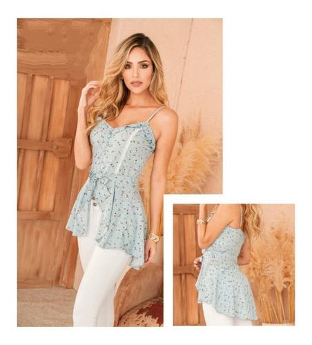 Blusa De Mujer Elegante Cola De Pato Lindo Diseño Moda