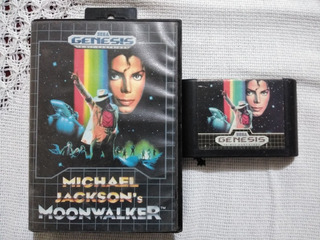 Sega Genesis Michael Jackson Moon Walkera (no Megaman,sonic)