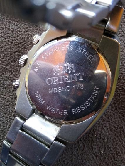 Relógio Orient Cronógrafo Mbssc 173Original