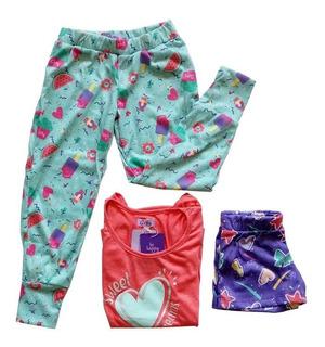 Witty Girls Pijama 3 Piezas Candy Girls Nenas Dormir
