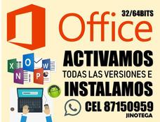 Instalamos Y Activamos Office En Todas Sus Versiones