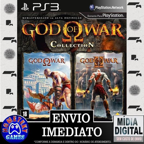 God Of War Collection Gow 1 E 2 - Psn Ps3