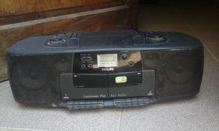 Radio Casetera+ Cd, Philips, No Anda