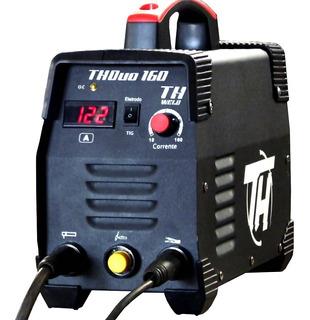 Inversora De Solda 160a Bivolt Eletrodo E Tig + Brindes