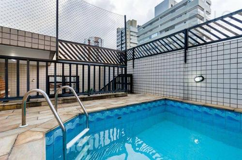 Imagem 1 de 30 de Cobertura À Venda, 226 M² Por R$ 950.000,00 - Pompéia - Santos/sp - Co0012