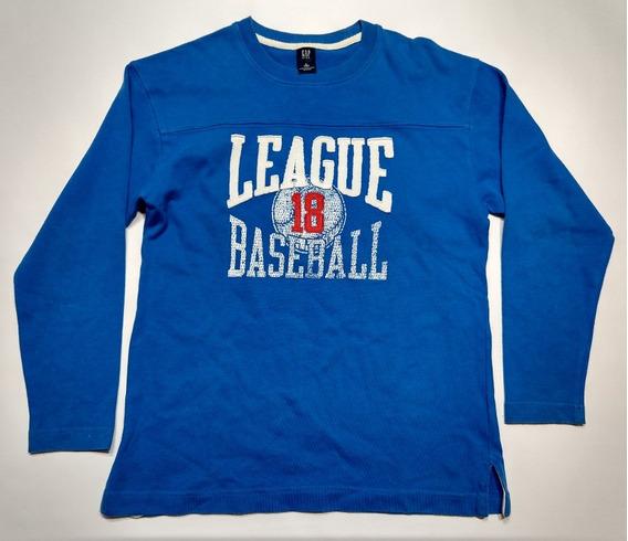 Remera Mangas Largas Gap Baseball Talle 10